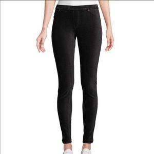 Hue Dark Gray Corduroy Leggings